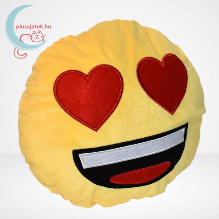 Szerelmes plüss emoji párna, jobbról