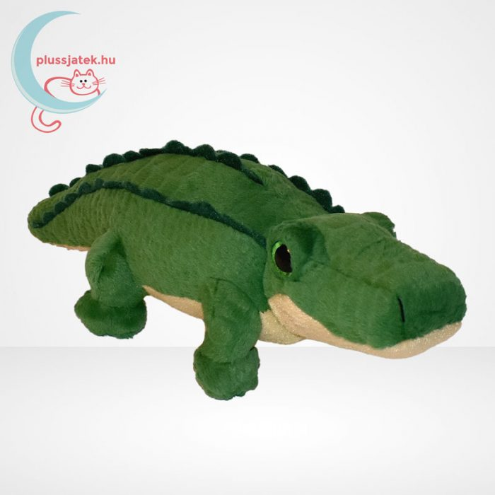 TY Beanie Babies - Spike, a plüss krokodil, jobbról