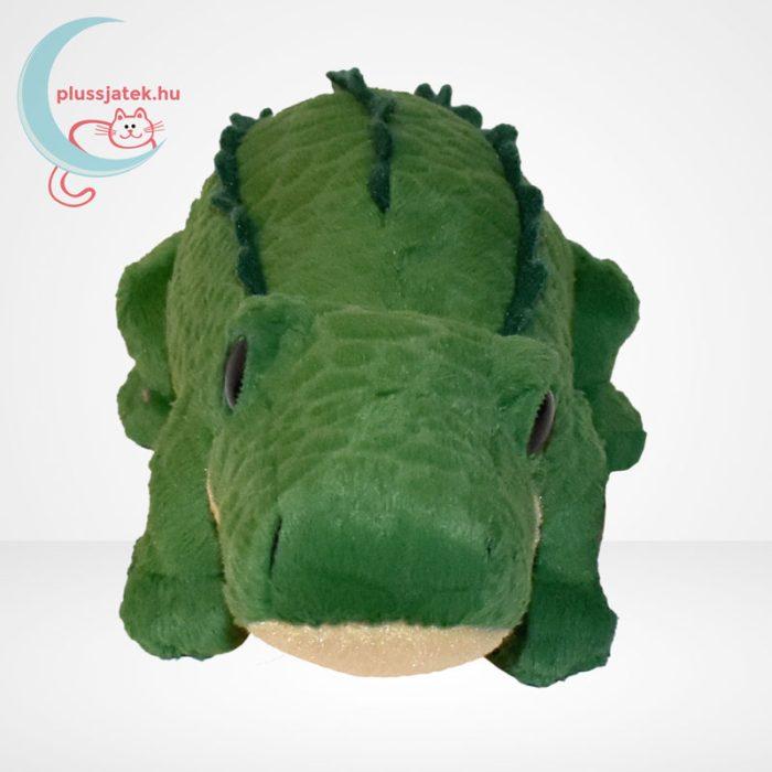 TY Beanie Babies - Spike, a plüss krokodil, szemből