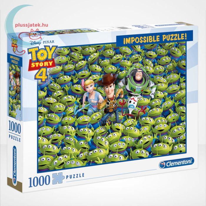 Toy Story 4 - A lehetetlen puzzle (Clementoni Impossible 1000 db-os kirakó)