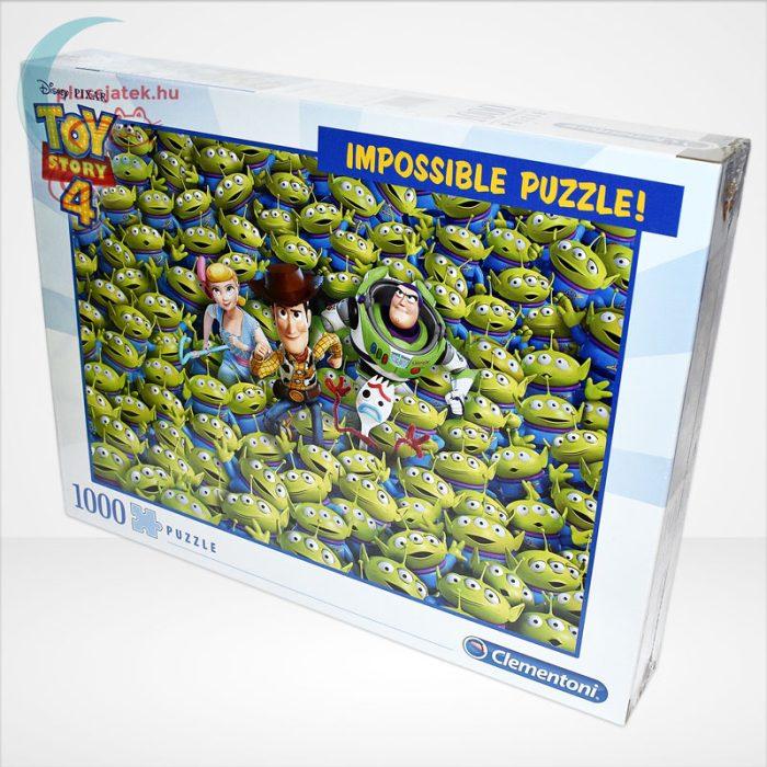 Toy Story 4 - A lehetetlen puzzle (Clementoni Impossible 1000 db-os kirakó), balról