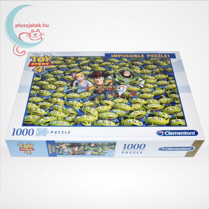 Toy Story 4 - A lehetetlen puzzle (Clementoni Impossible 1000 db-os kirakó), oldalról