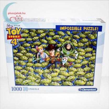 Toy Story 4 - A lehetetlen puzzle (Clementoni Impossible 1000 db-os kirakó), szemből