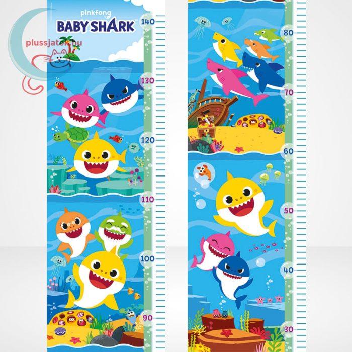 Baby Shark: Mérj meg! magasságmérő 30 db-os Clementoni puzzle (20340), a kép
