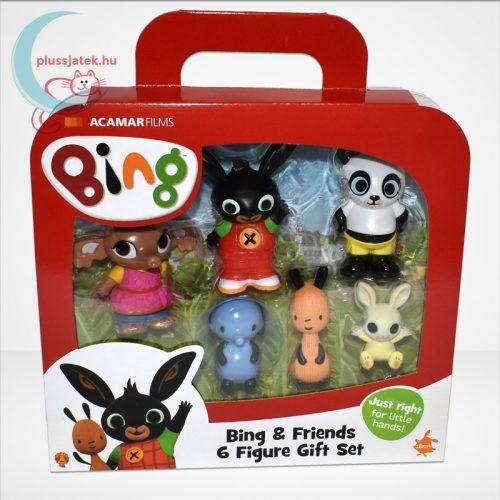Bing és barátai 6 db-os műanyag figura szett díszdobozban