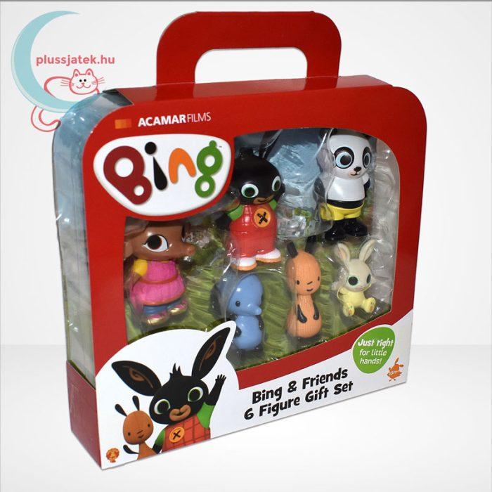 Bing és barátai 6 db-os műanyag figura szett díszdobozban, jobbról