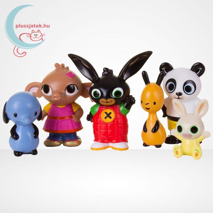 Bing és barátai 6 db-os műanyag figura szett díszdobozban, szereplők