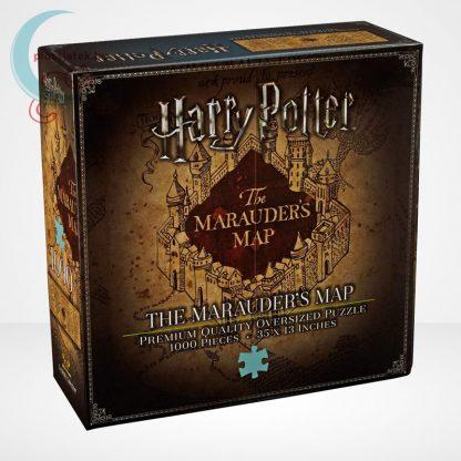 Harry Potter: Tekergők térképe 1000 darabos puzzle, a doboz