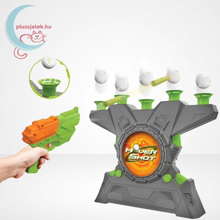 Lebegő labda céllövölde (Ambassador Hover Shot 2.0), játék közben