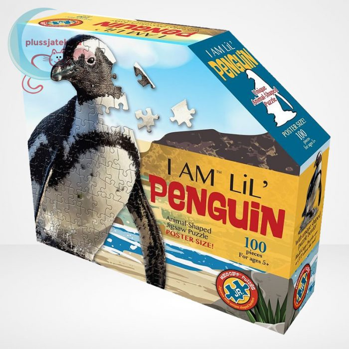 Wow poszter méretű forma puzzle - Pingvin, 100 db