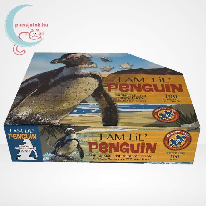 Wow poszter méretű forma puzzle - Pingvin, 100 db, oldalról