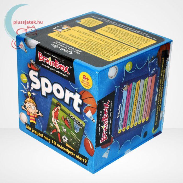 Brainbox - Sport társasjáték, balról