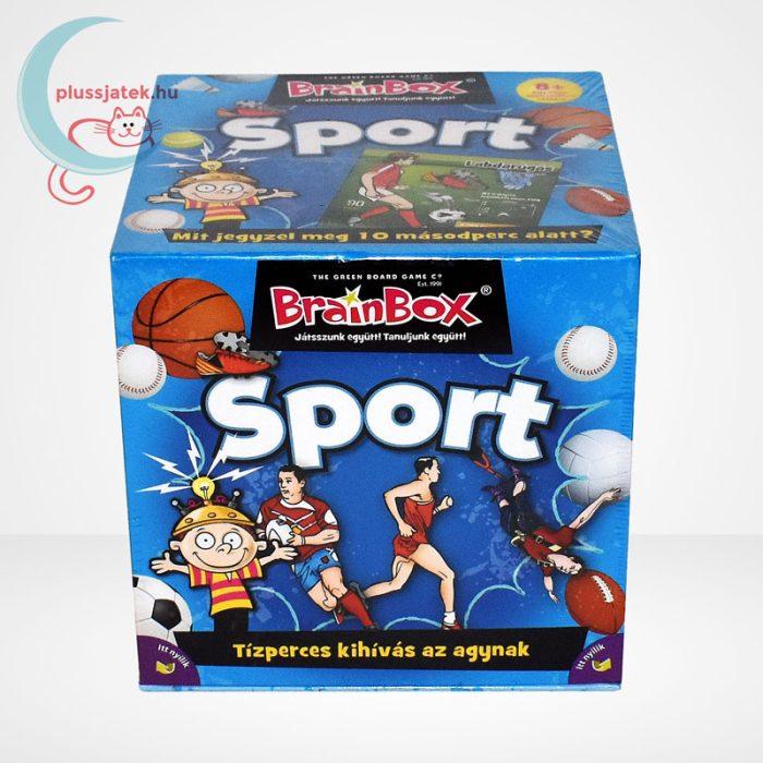 Brainbox - Sport társasjáték, hátulról