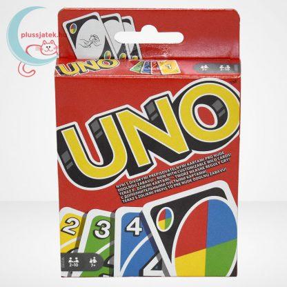 UNO kártya (Mattel), szemből