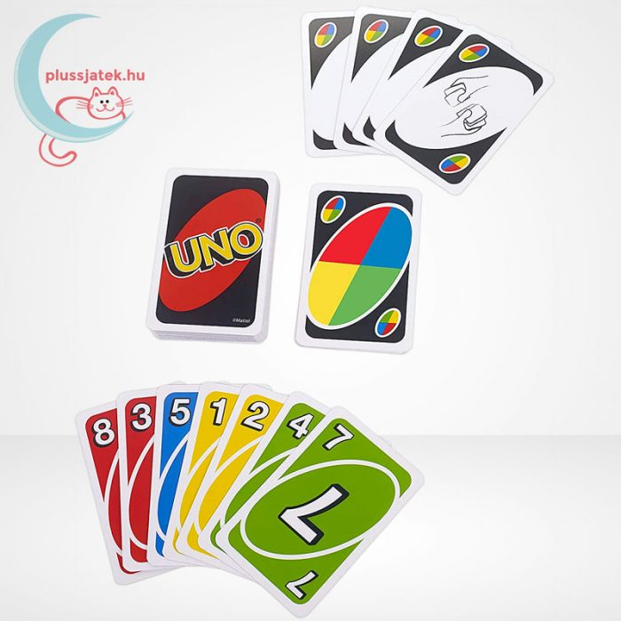 UNO kártya (Mattel), kártyalapok
