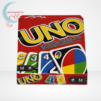 UNO kártya (Mattel), oldalról