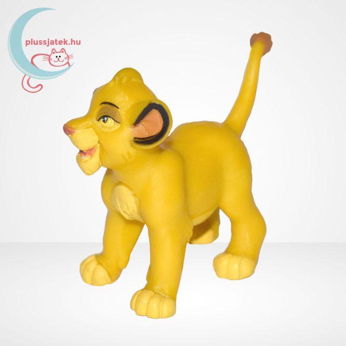 Az Oroszlánkirály: Simba kölyök gumírozott figura - Bullyland, balról