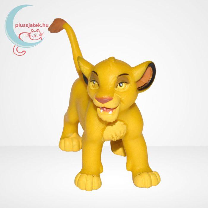 Az Oroszlánkirály: Simba kölyök gumírozott figura - Bullyland, szemből