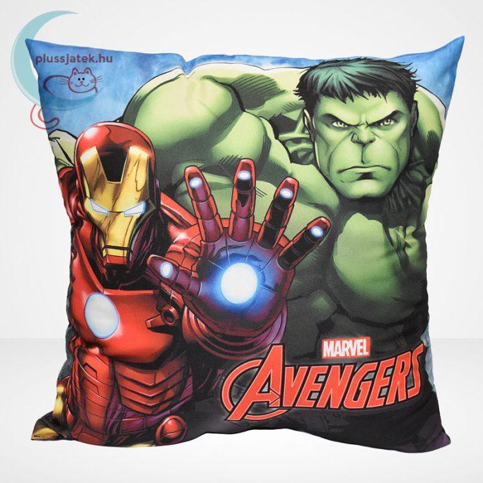 Marvel Avengers (Bosszúállók) díszpárna - Hulk és Vasember (40 cm)