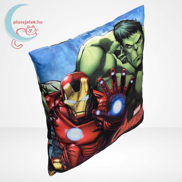 Marvel Avengers (Bosszúállók) díszpárna - Hulk és Vasember (40 cm), jobbról