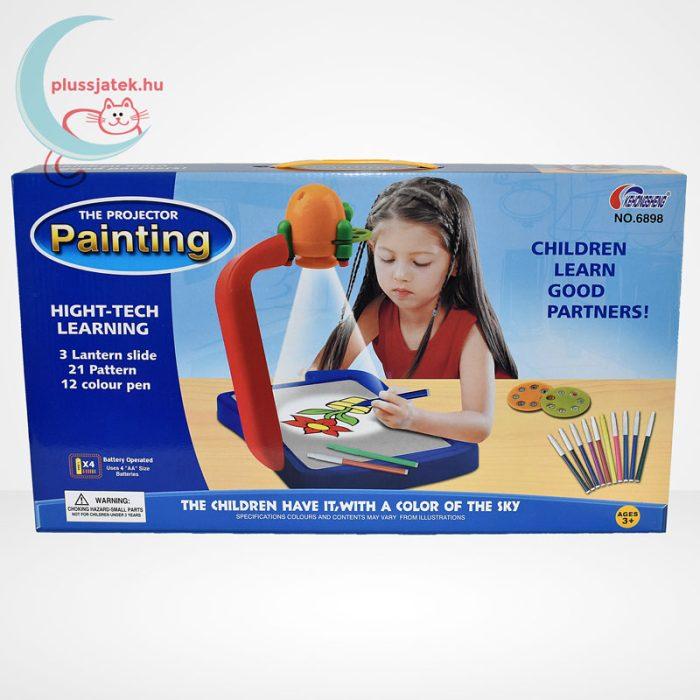 Rajzoló kivetítő projektor szett gyerekeknek