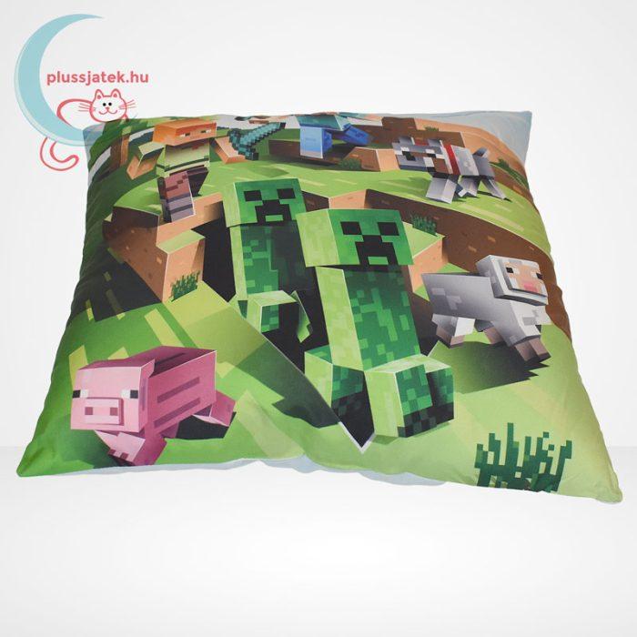 Minecraft párna (40x40 cm) fektetve