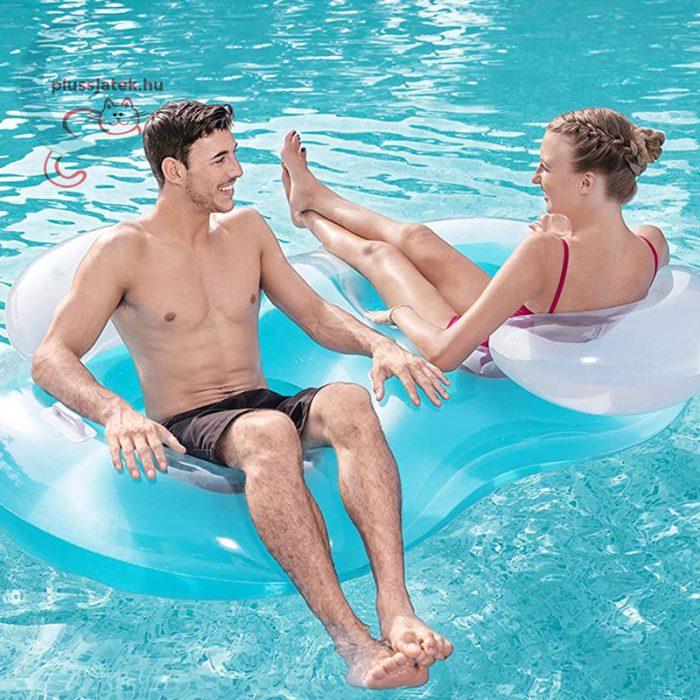 Bestway 43009 dupla úszófotel 188x117 cm, 2 személy számára