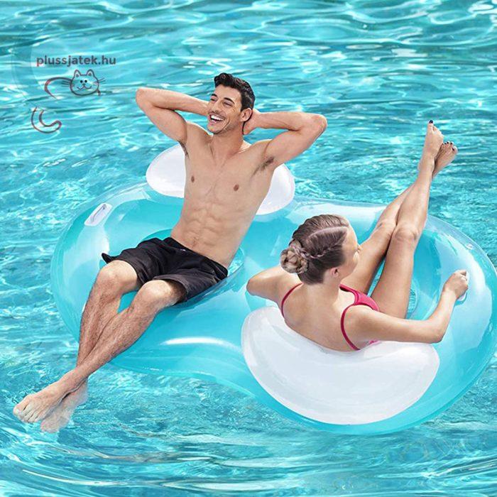 Bestway 43009 dupla úszófotel 188x117 cm, kényelmes matrac
