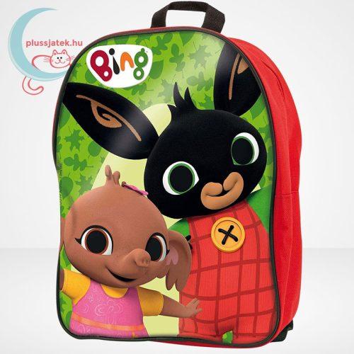 Bing - építőkocka piros hátizsákban (36 db-os), a táska