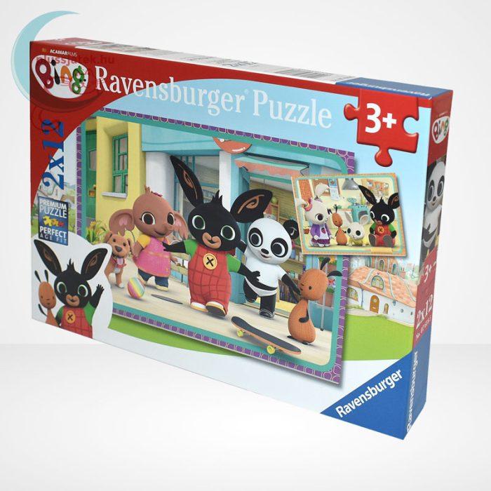 Bing mókázik 2x12 db-os puzzle (2 db mini poszterrel) - Ravensburger [76185], jobbról