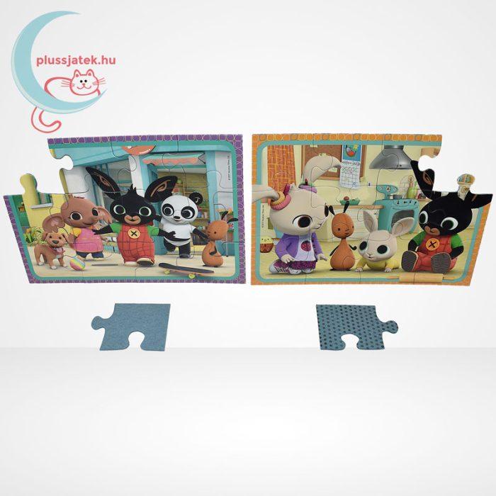 Bing mókázik 2x12 db-os puzzle (2 db mini poszterrel) - Ravensburger [76185], játék közben