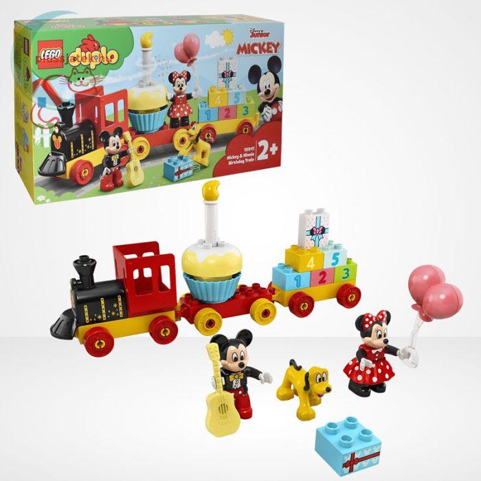 LEGO Duplo - Mickey és Minnie születésnapi vonata (10941)