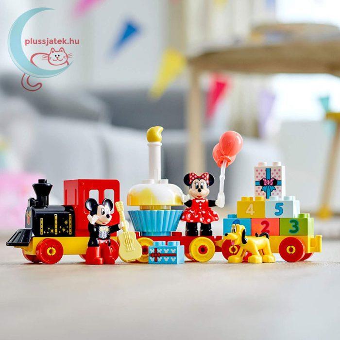 LEGO Duplo - Mickey és Minnie születésnapi vonata (10941), a készlet összeállítva