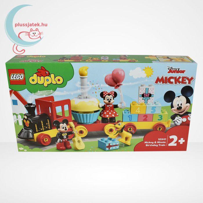 LEGO Duplo - Mickey és Minnie születésnapi vonata (10941), elölről