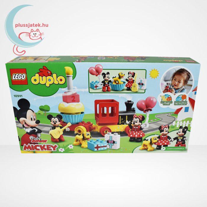 LEGO Duplo - Mickey és Minnie születésnapi vonata (10941), hátulról