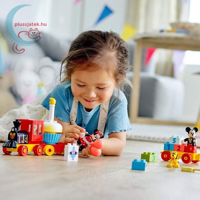 LEGO Duplo - Mickey és Minnie születésnapi vonata (10941), két éves kortól ajánlott