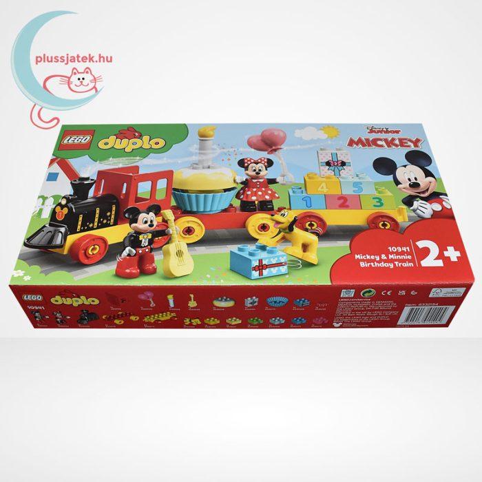 LEGO Duplo - Mickey és Minnie születésnapi vonata (10941), oldalról