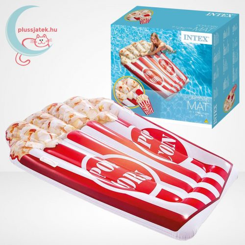 Popcorn formájú felfújható strandmatrac (178 x 124 cm) - Intex 58779