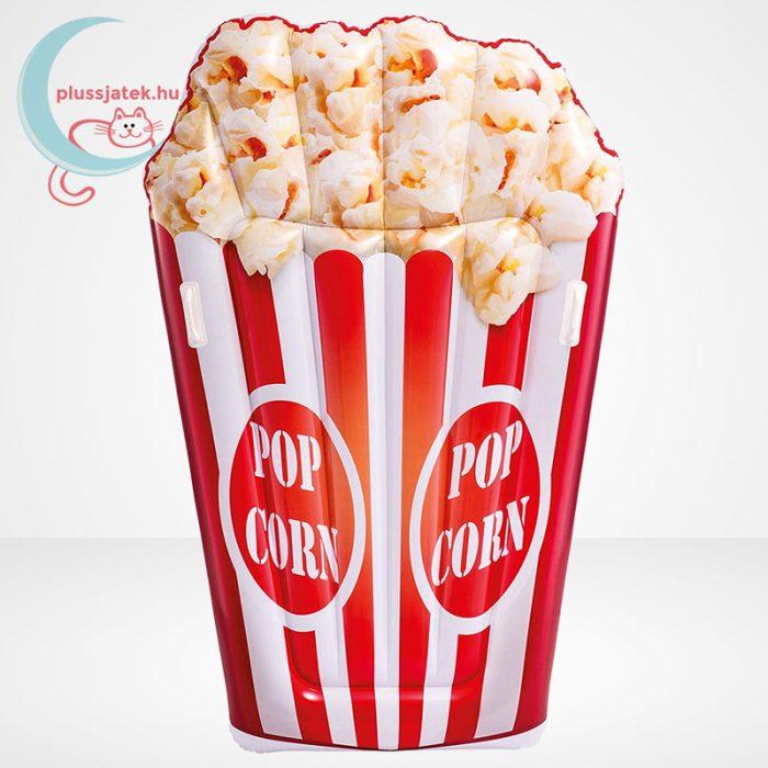 Popcorn formájú felfújható strandmatrac (178 x 124 cm) - Intex 58779, a pattogatott kukorica