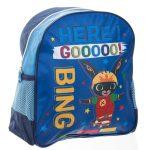 Bing: Bing nyuszi gördeszkán - mintás kék ovis hátizsák
