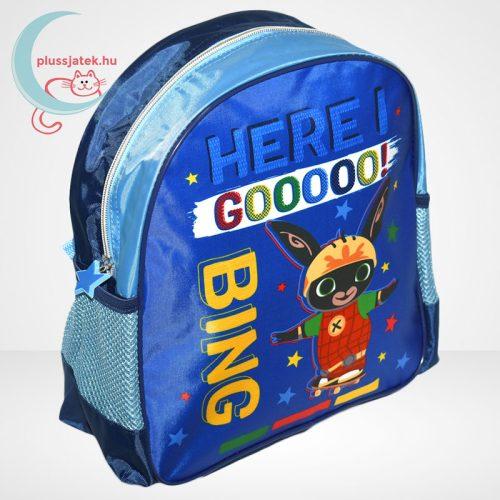 Bing: Bing nyuszi gördeszkán – mintás kék ovis hátizsák