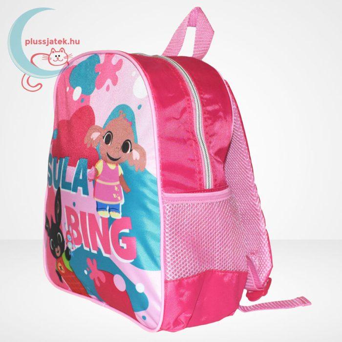 Bing: Sula és Bing rózsaszín ovis hátizsák, balról