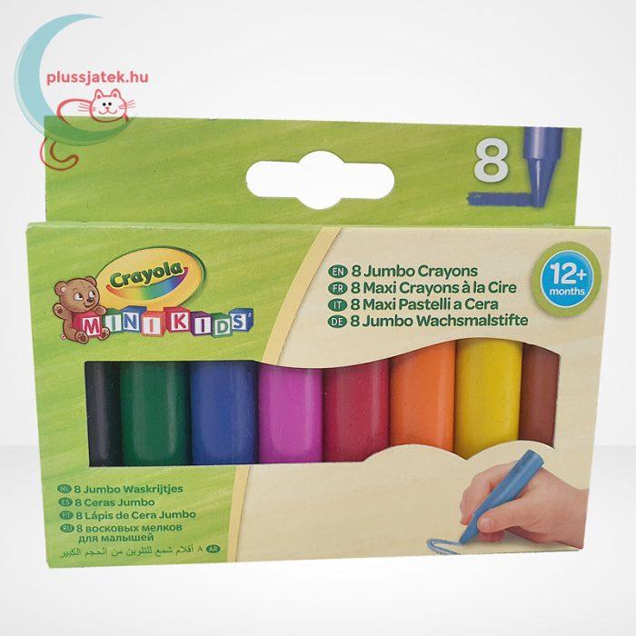 Crayola: 8 db színes tömzsi viaszkréta