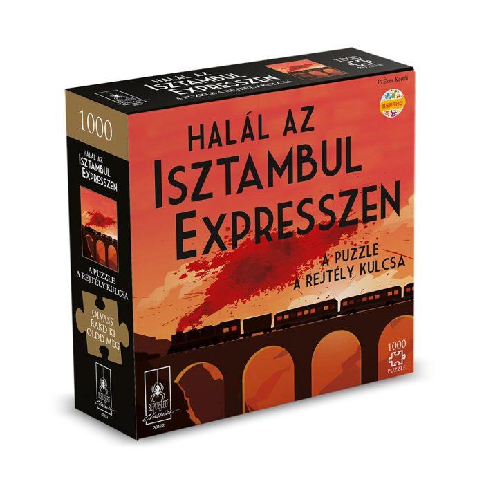 Halál az Isztambul expresszen puzzle rejtéllyel, 1000 db