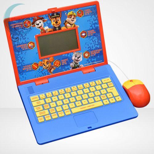Lexibook Magyar/Angol nyelvű oktató laptop – Mancs Őrjárat, jobbról