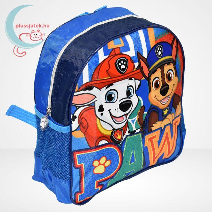 Mancs őrjárat: Marshall és Chase mintás ovis hátizsák fiúknak - kék