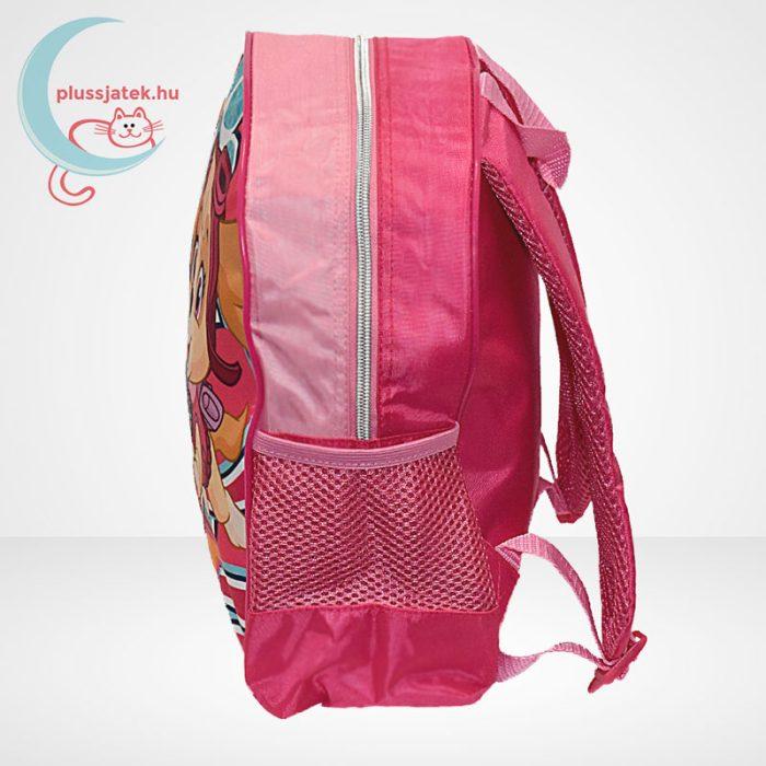 Mancs őrjárat: Sky és Everest mintás ovis hátizsák lányoknak - rózsaszín, oldalról