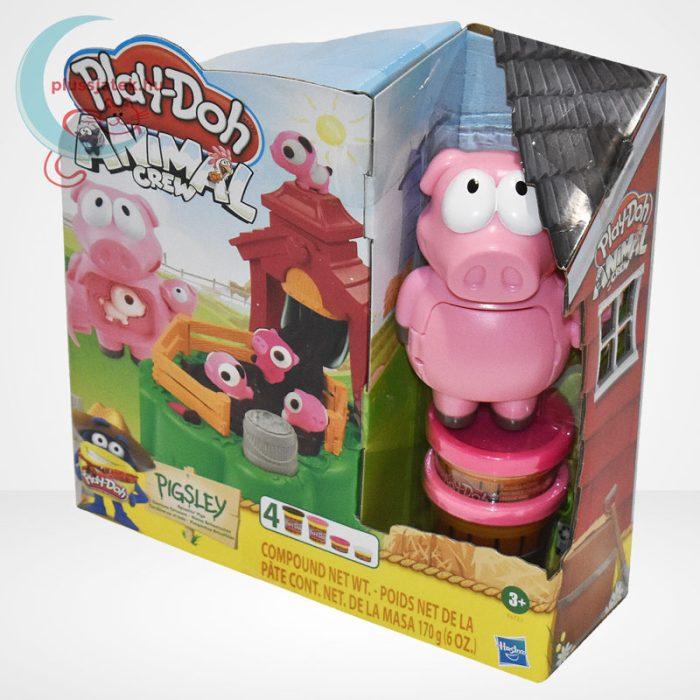 Play-Doh: Pigsley és a dagonyázó malacok gyurma készlet