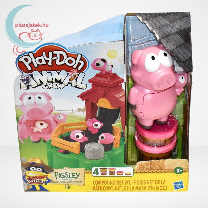 Play-Doh: Pigsley és a dagonyázó malacok gyurma készlet, szemből