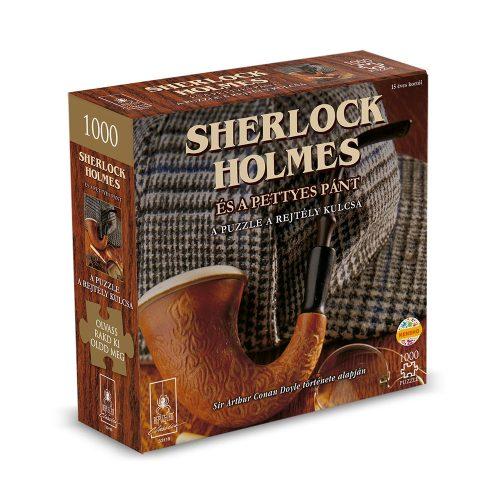 Sherlock Holmes és a pettyes pánt puzzle rejtéllyel, 1000 db